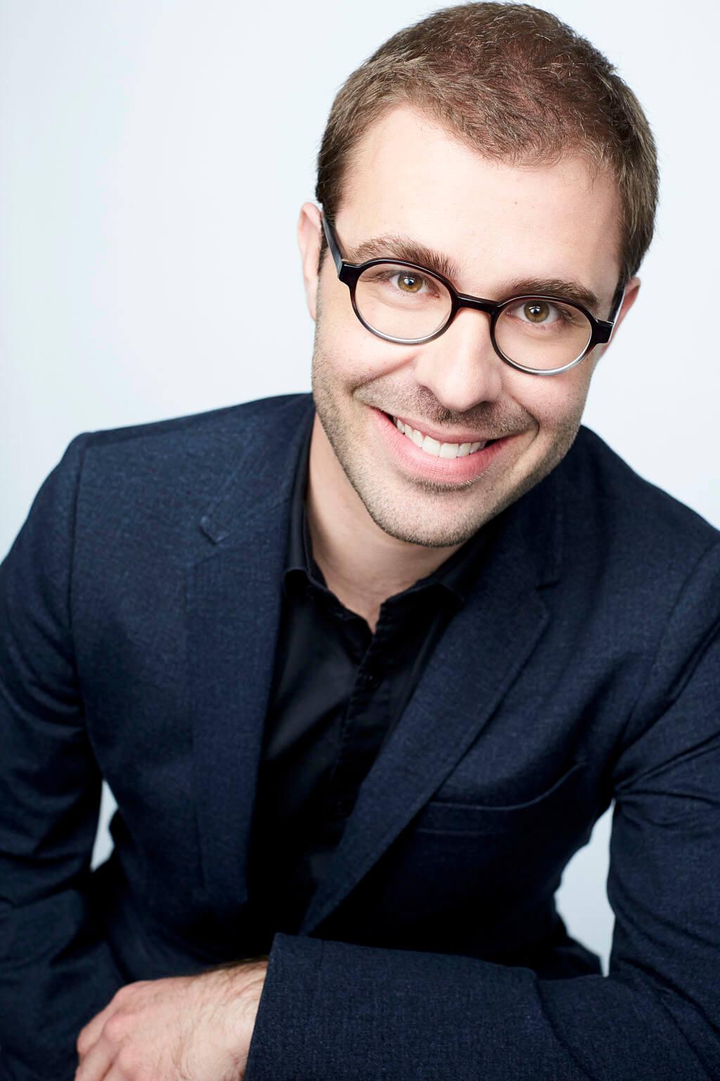 Vincent Lauzer, flûtiste.