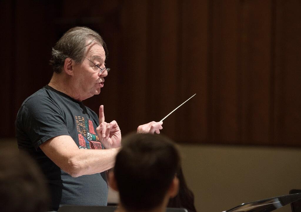 Walter Boudreau, compositeur et directeur artistique de la SMCQ. (Photo: Amélie Philibert/Courtoisie UdeM)