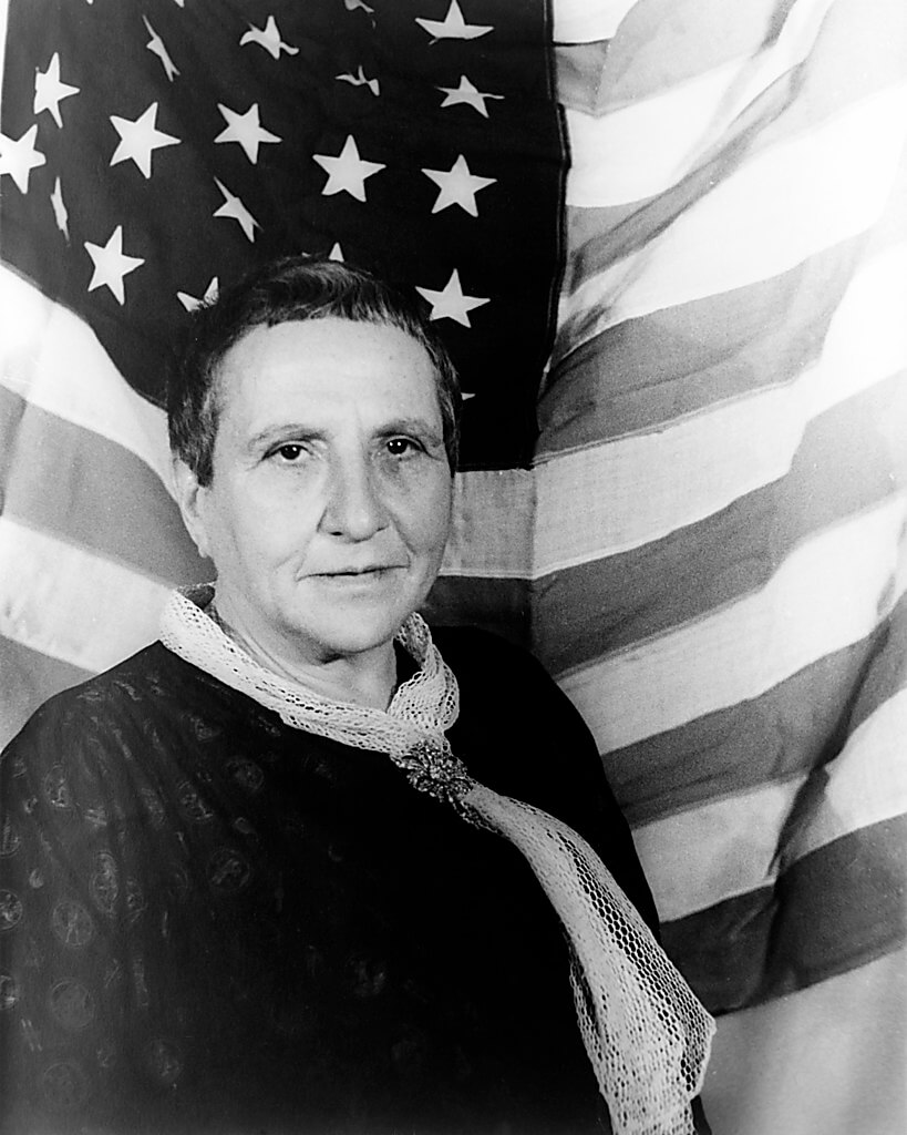 Portrait de Gertrude Stein, 1935. (Photo: Library of Congress)