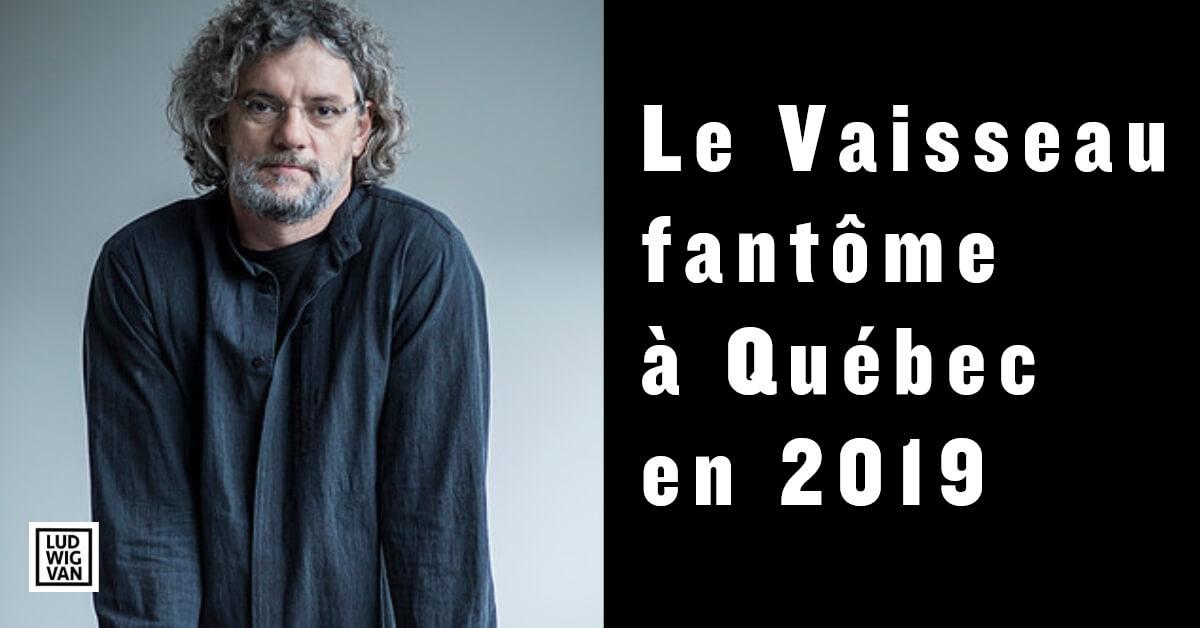 François Girard signera la mise en scène du Vaisseau fantôme, de Wagner, qui sera présenté au Festival d'opéra de Québec en 2019 et au Metropolitan Opera en 2020. (Photo: site web de l'artiste).