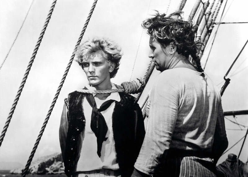 L'acteur Terrence Stamp dans le film Billy Budd, de Peter Ustinov (1962). (Photo: Alamy)