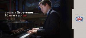 Club musical de Québec Benjamin Grosvenor