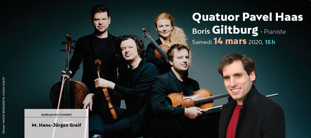 Quatuor Pavel Hass et B Guilburg – Bonheur brut