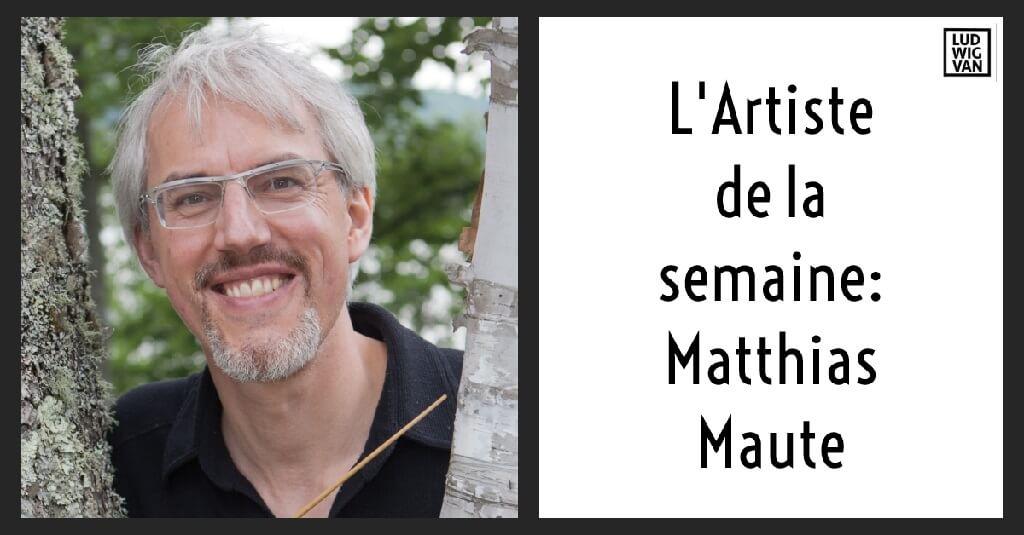 Matthias Maute, directeur artistique de l'Ensemble Caprice, qui fête ses 30 ans cette année. (Photo: Bill Blackstone)