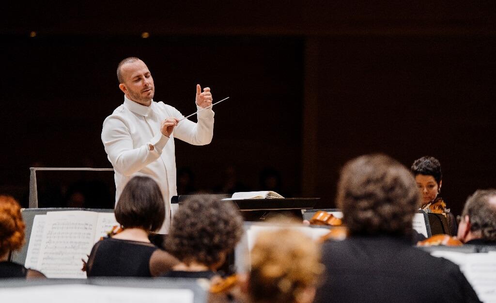 Yannick Nézet-Séguin et l'Orchestre Métropolitain partiront en tournée aux États-Unis en novembre prochain. (Photo: François Goupil)