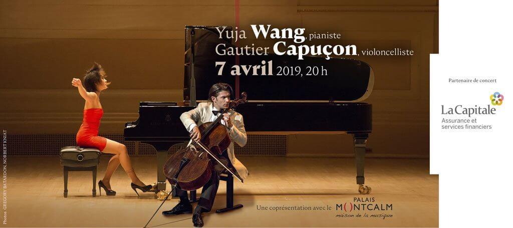 Club musical de Québec Yuja Wang Gautier Capuçon