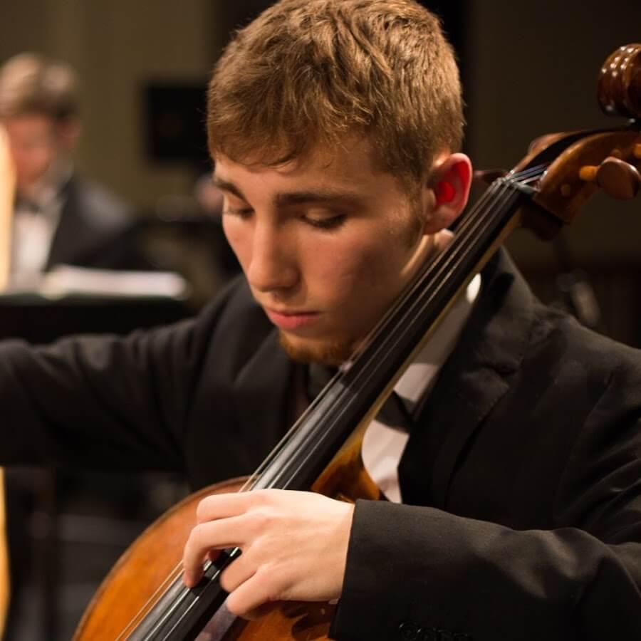 Elie Boissinot, violoncelle, Gagnant du Concours Violon d'or de McGill 2018