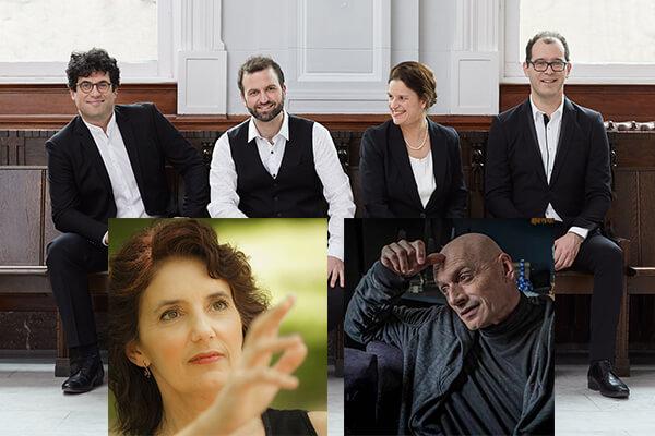 Quatuor Molinari avec Louise Bessette et Jean Marchand