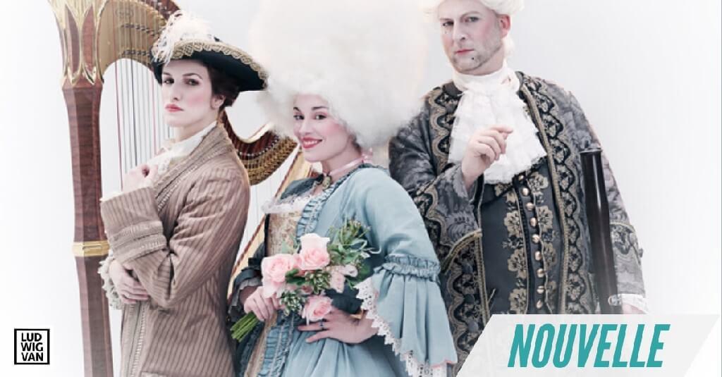 Valérie Milot, Marianne Lambert et Mathieu Lussier prendront part au spectacle L'Amant jaloux. (Photo: courtoisie du FOQ)