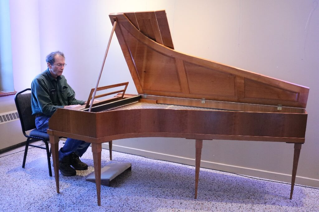 Le piano-forte acquis par la Fondation des Violons du Roy est fabriqué par Rodner Regier, un facteur américain. (Photo: courtoisie)
