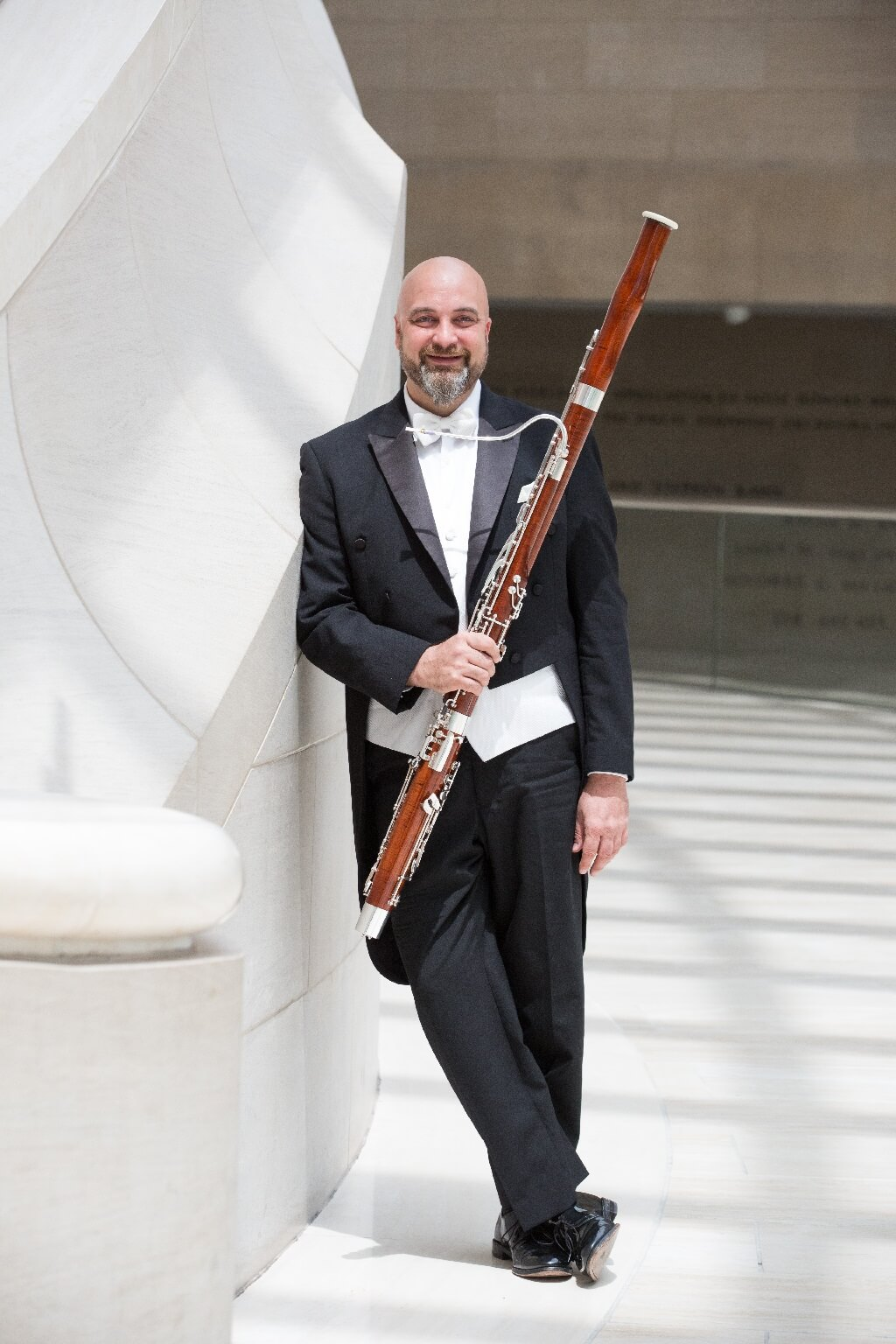 Ted Soluri, basson principal du Dallas Symphony Orchestra. (Photo: courtoisie)