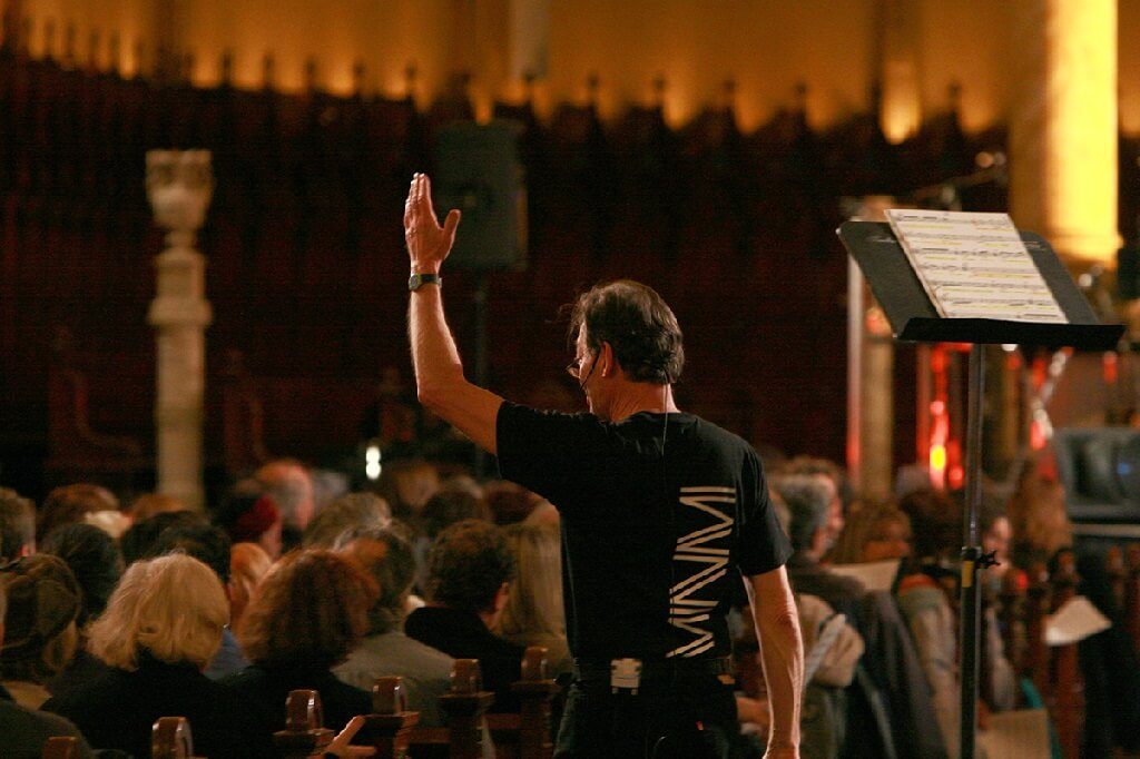 Walter Boudreau dirigera l'Ensemble de la SMCQ le 21 février lors du concert HoMa. (Photo: Jacques Cabana
