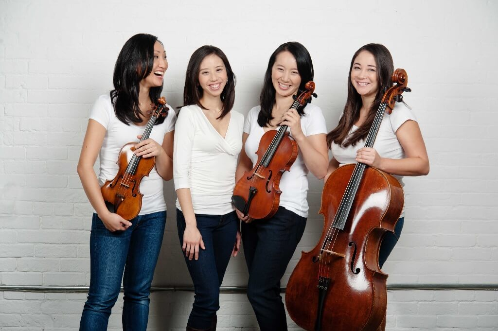 Le quatuor Made in Canada. (Photo: Bo Huang)