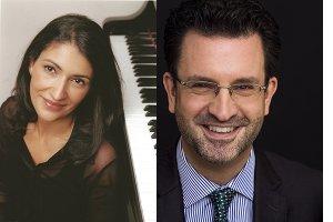 Myryam Farid et Olivier Godin