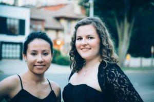 Duo Kalysta : Lara Deutsch et Emily Belvedere