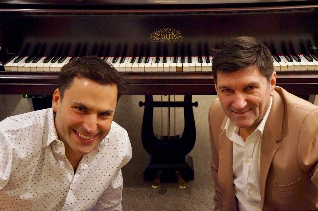 """Jean-Philippe Sylvestre et Luc Beauséjour s'associent pour le concert """"Deux Érard, c'est rare!"""" (Photo: courtoisie)"""