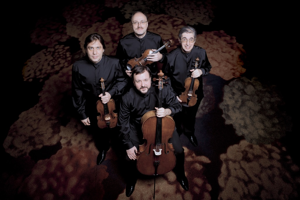 Le Quatuor Borodine. (Photo: Simon Van Boxtel).