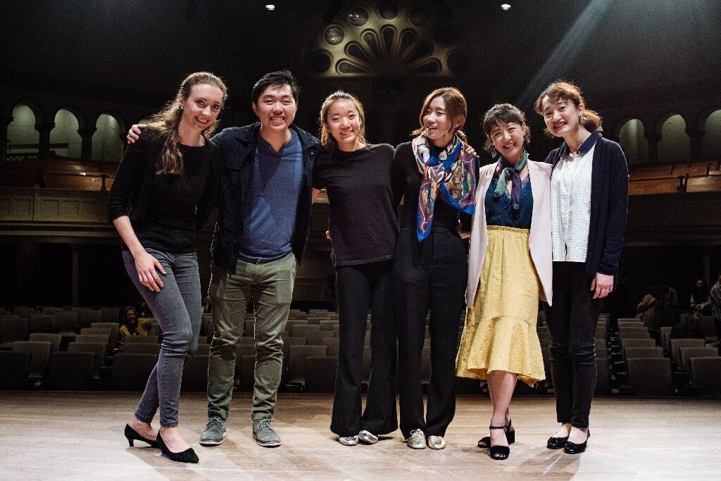 Les six finalistes du Concours musical international de Montréal, édition Violon 2019. (Photo: Tam Lan Truong)