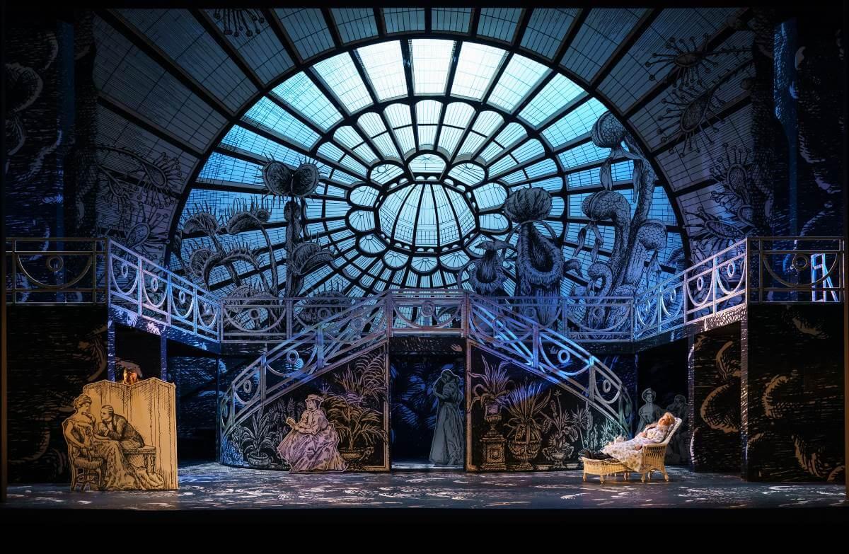La Flûte enchantée, de Mozart, mise en scène par Barbe & Doucet. (Photo: courtoisie)