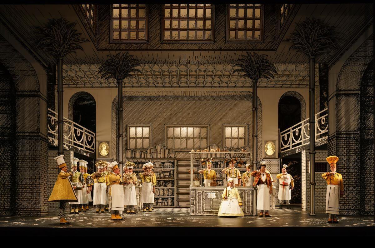 La Flûte enchantée, de Mozart, mise en scène par Barbe & Doucet au Glyndebourne Festival. (Photo: courtoisie)
