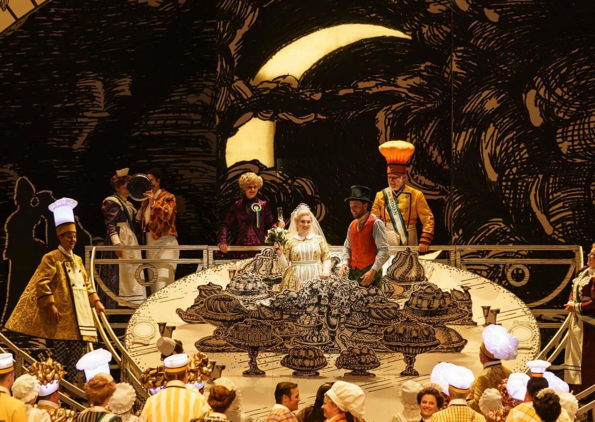 La Flûte enchantée, de Mozart, mise en scène par Barbe & Doucet au Glyndebourne Opera Festival. (Photo: courtoisie)