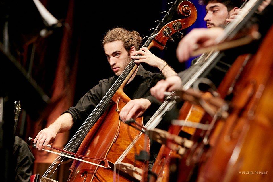 Musiciens de l'Orchestre de la Francophonie. (Photo: Michel Pinault)