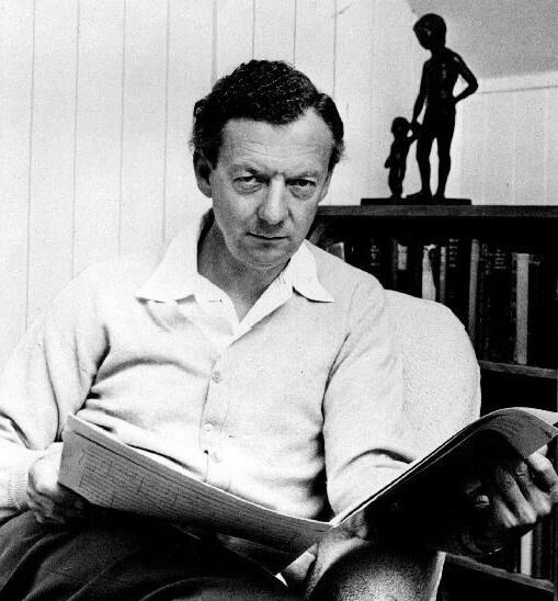 Benjamin Britten. (Photo: London Records, 1968)