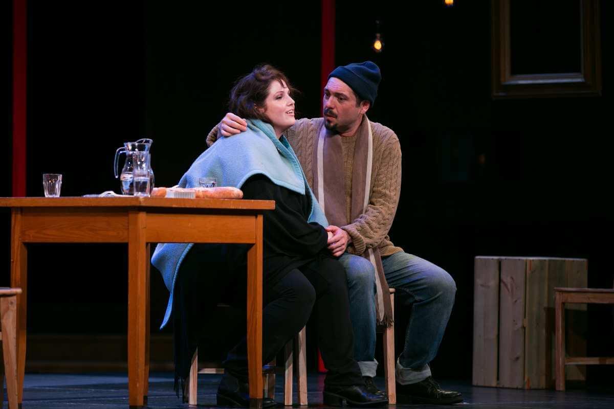 Une scène de La Bohème, de Leoncavallo, production de l'ICAV 2019. (Photo: Pierre-Étienne Bergeron)