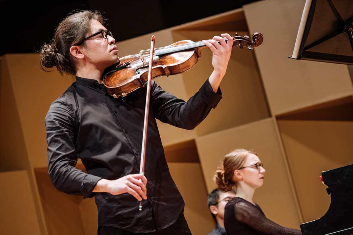 Le Violon d'or est un concours organisé annuellement à l'École de musique Schulich de McGill. (Photo: Tam Lan Truong)