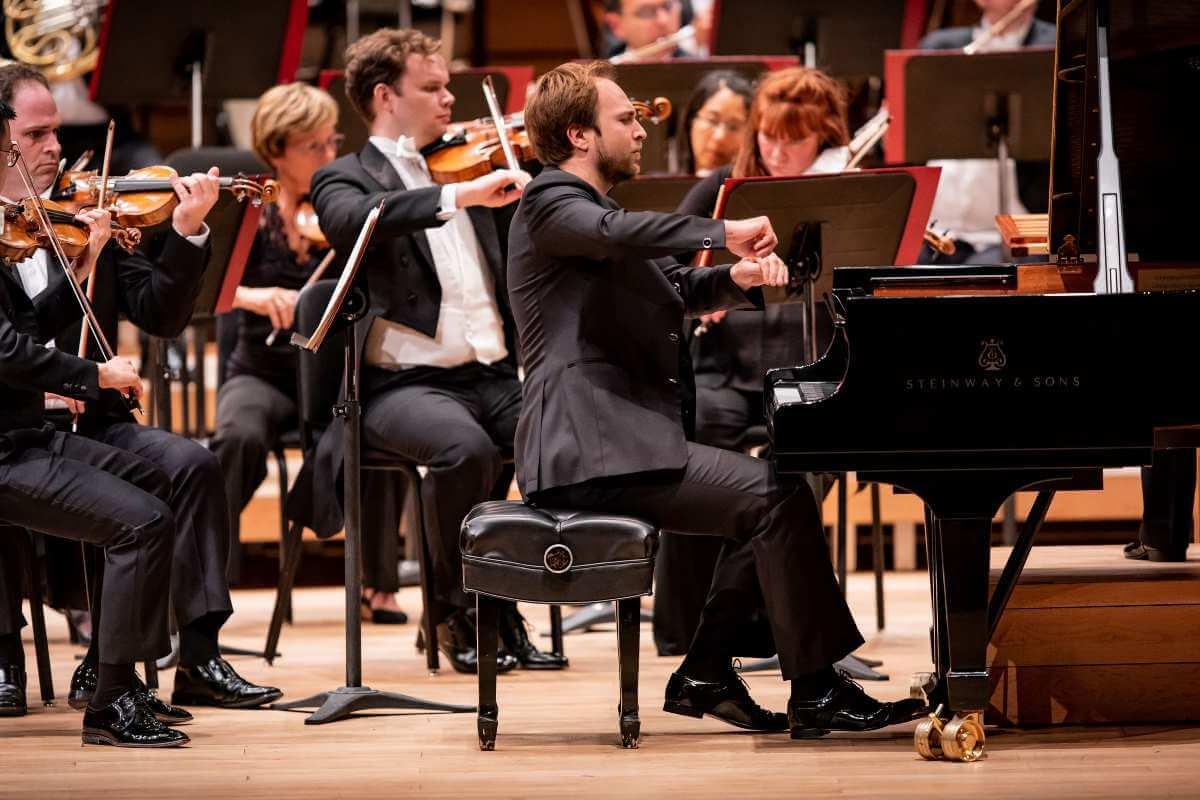 Herbert Schuch, pianiste, à la Virée classique OSM 2019. (Photo: Antoine Saito)