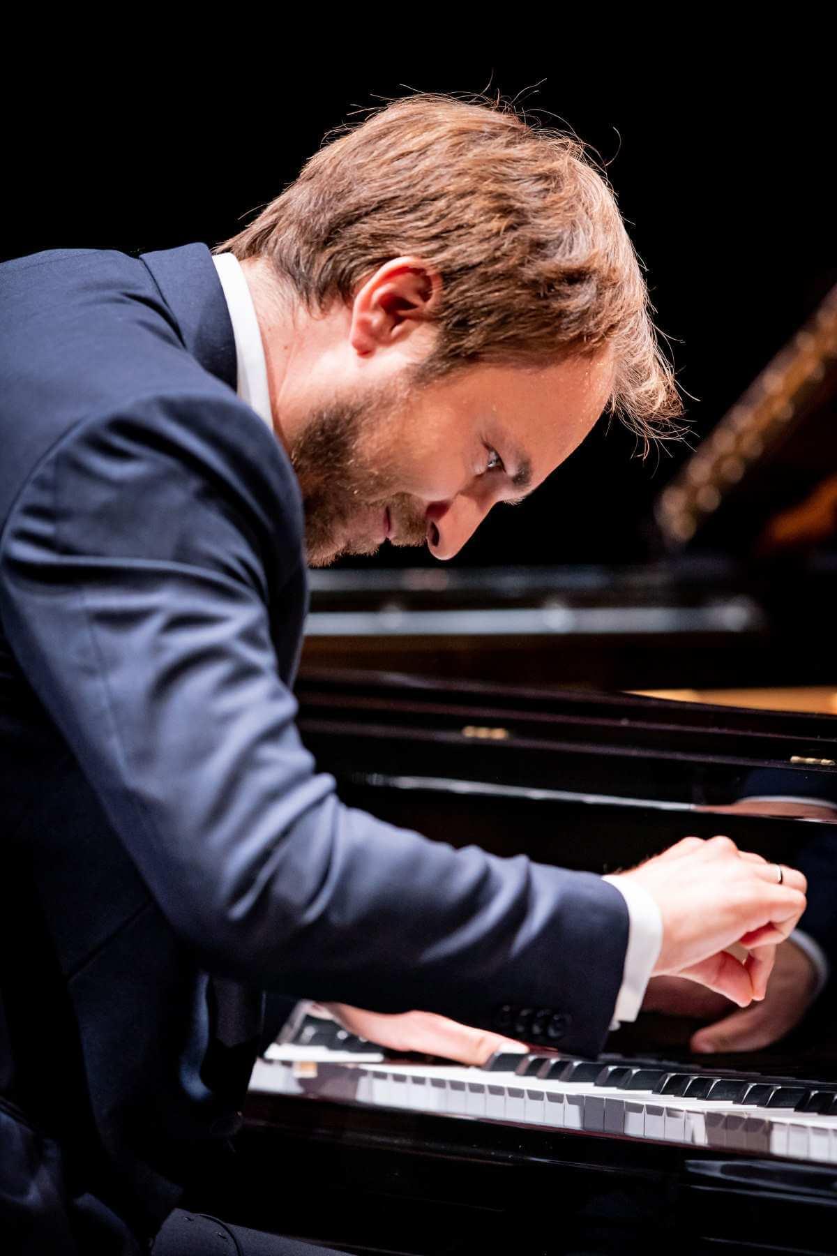 Herbert Schuch en récital à la Virée classique OSM 2019. (Photo: Antoine Saito)