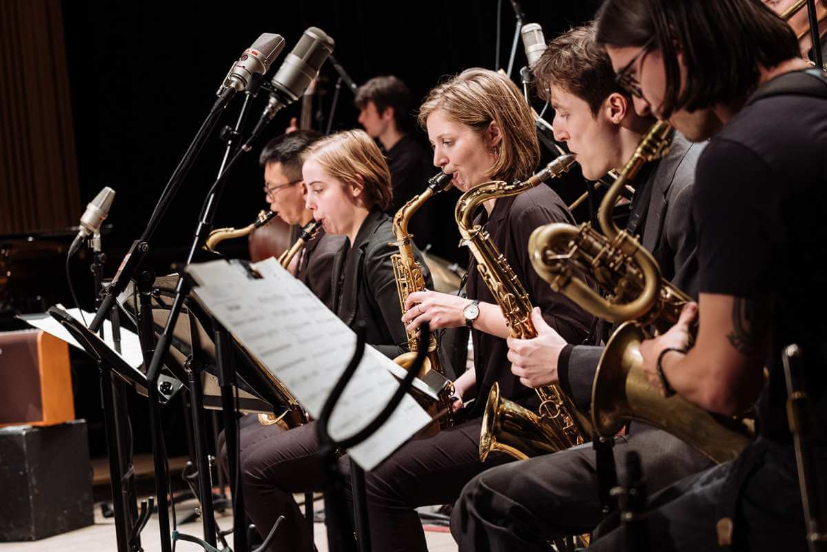 L'Orchestre de jazz de McGill. (Photo: Tam Lan Truong)
