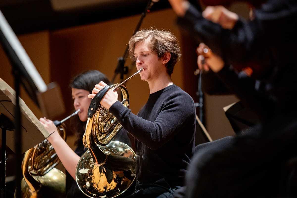 Des musiciens de l'Orchestre symphonique de McGill. (Photo: Dominick Gravel)