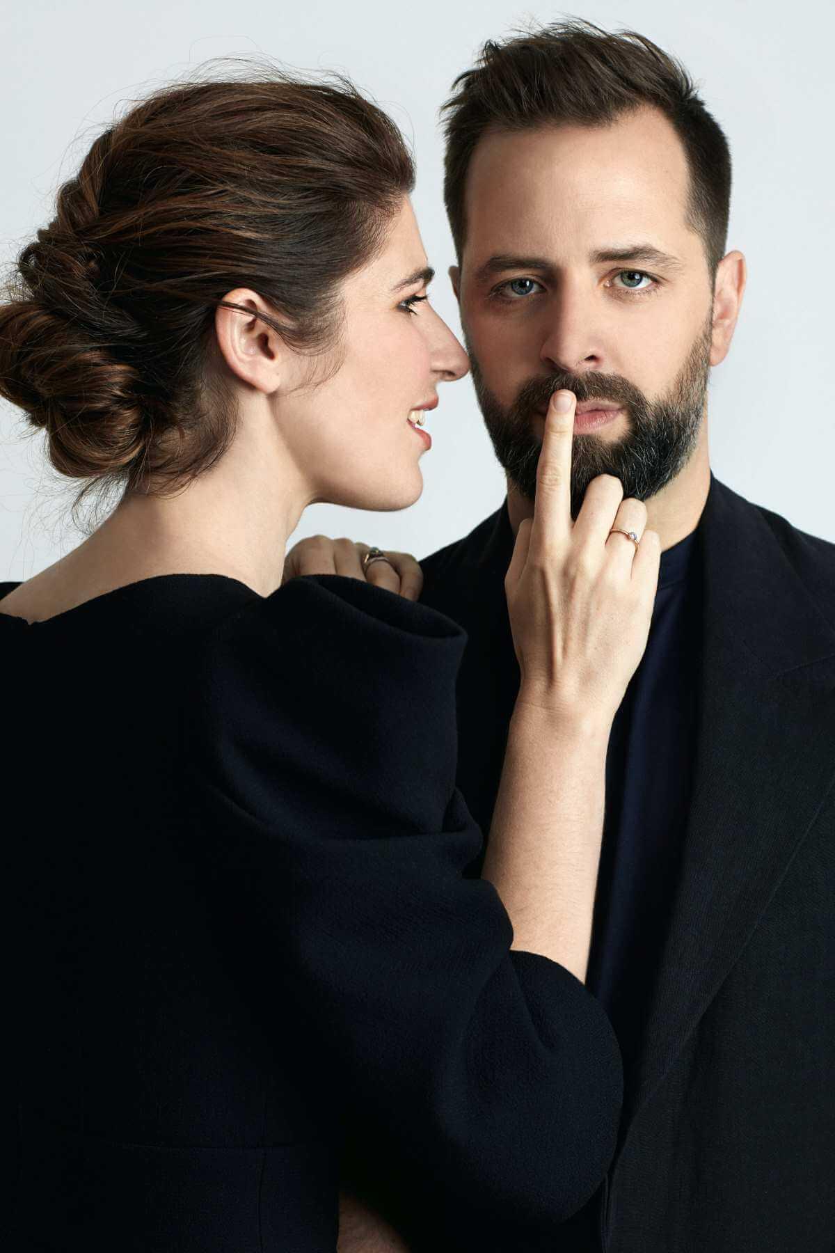 Nicole Car and Étienne Dupuis