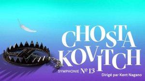 Concert d'ouverture : Kent Nagano dirige la symphonie « Babi Yar » de Chostakovitch