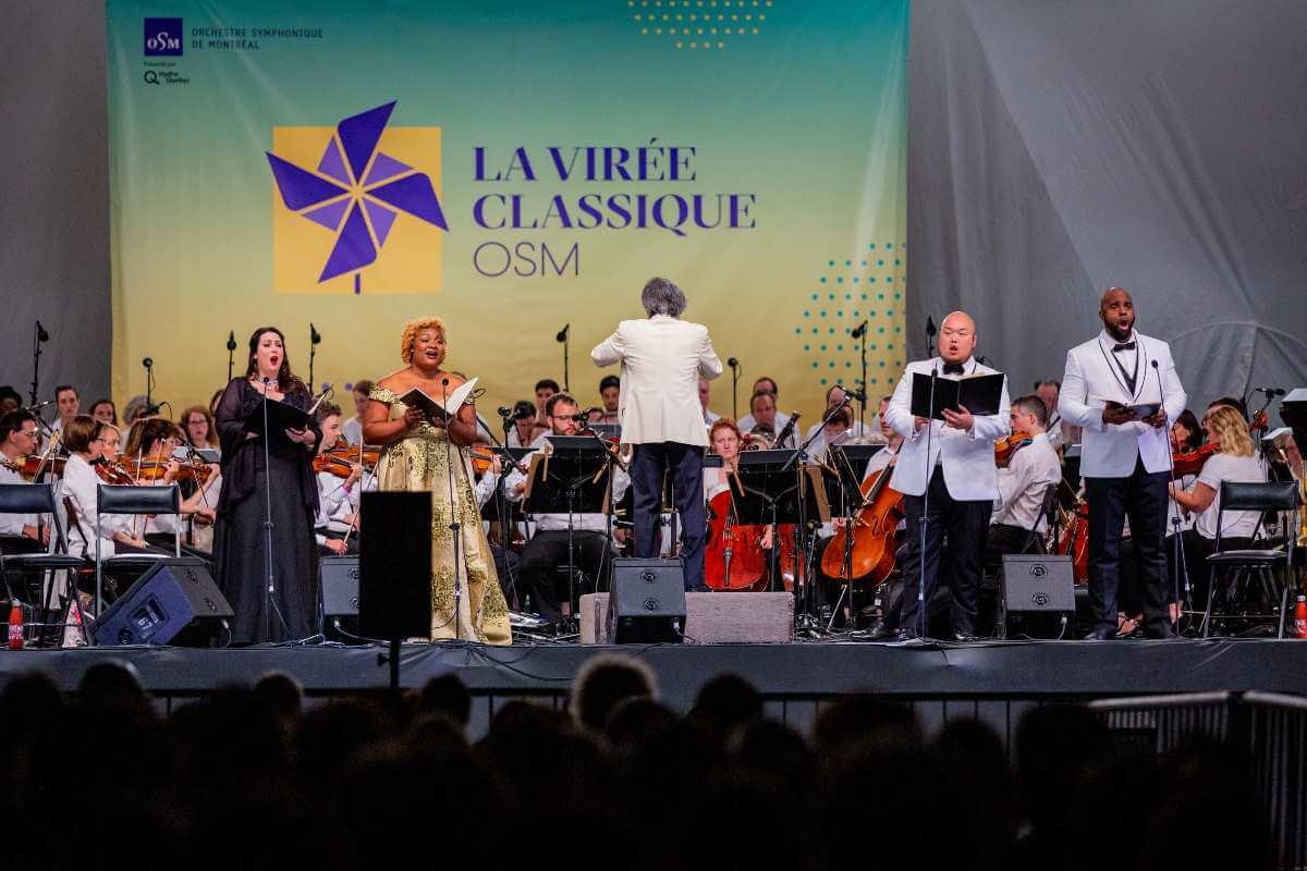 Les solistes sont Leslie Ann Bradley, Raehann Bryce David, Mario Bagh, Ryan Speedo Green. (Photo: Antoine Saito)