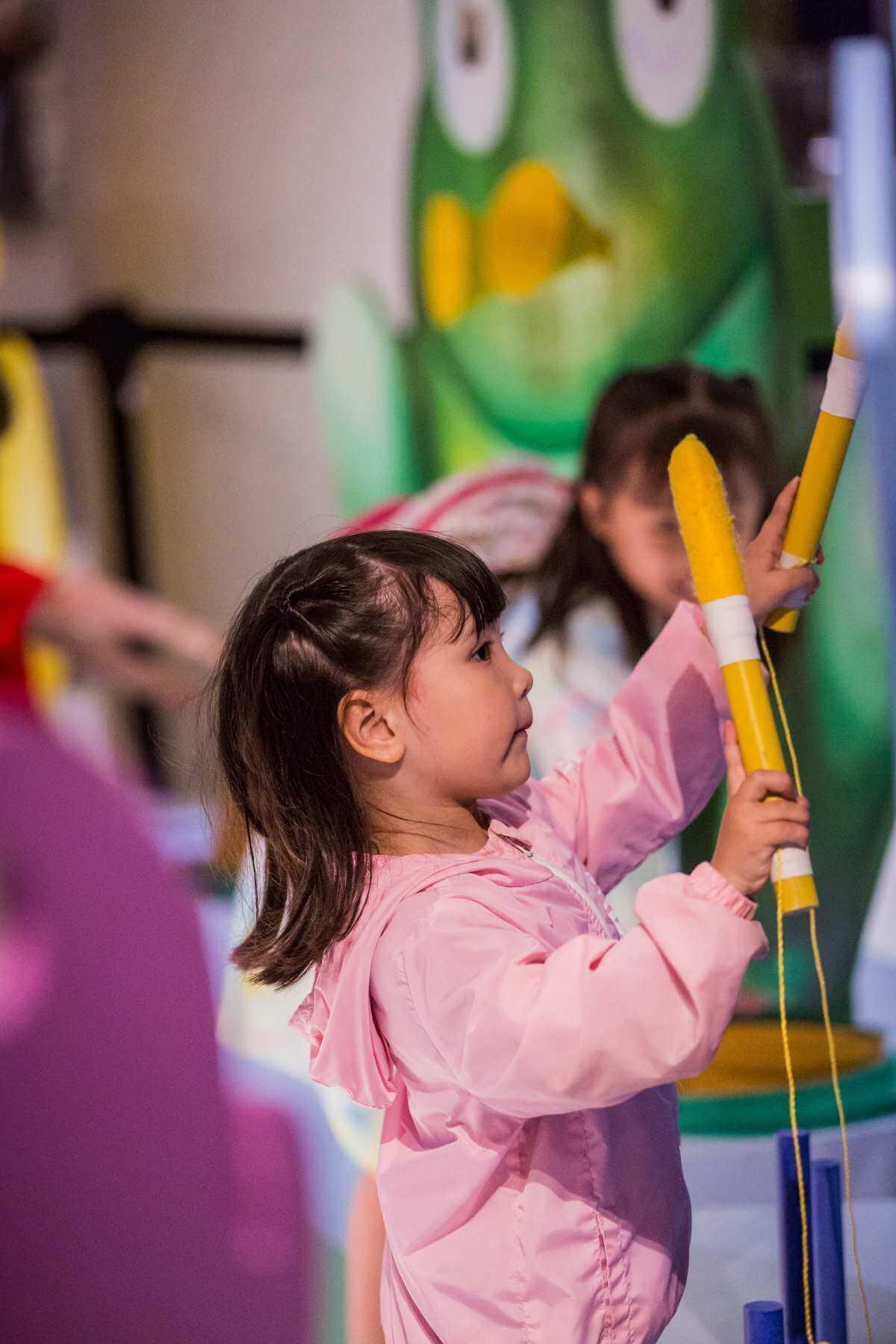 Parmi les activités gratuites de la Virée classique OSM 2019, des ateliers d'éveil musical pour les enfants. (Photo: Antoine Saito)