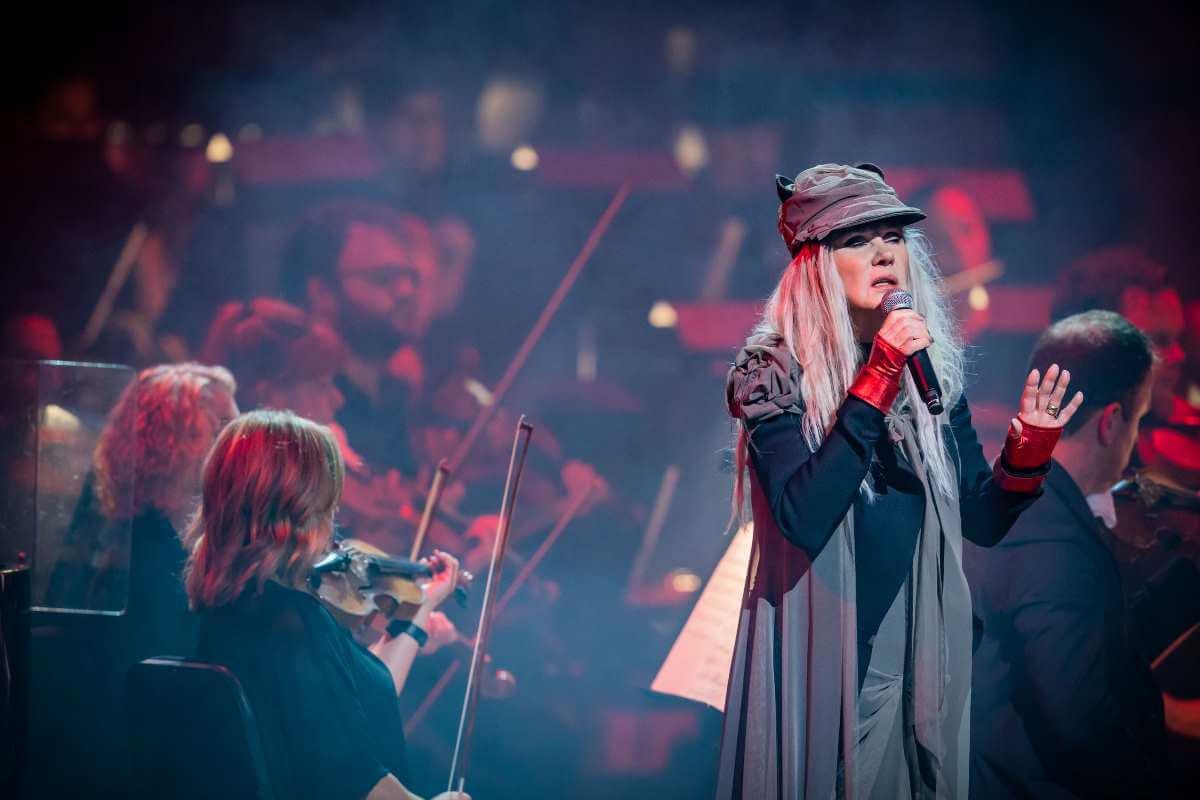Diane Dufresne avec l'Orchestre symphonique de Montréal, 10 septembre 2019. (Photo: Antoine Saito)