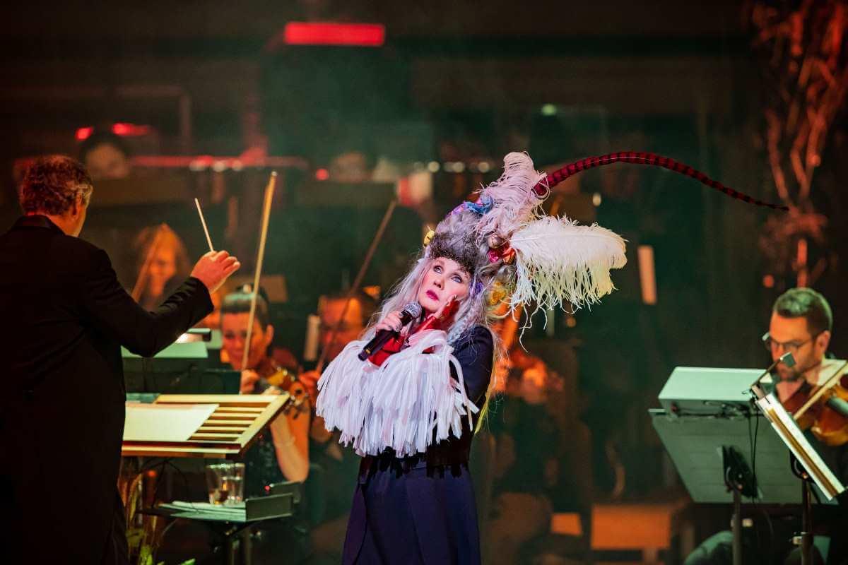 Diane Dufresne en concert avec l'Orchestre symphonique de Montréal, 10 septembre 2019. (Photo: Antoine Saito)