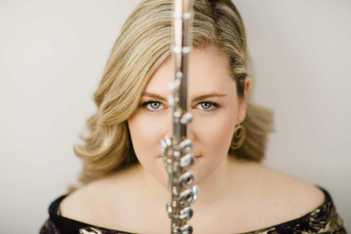 Lara Deutsch, flûtiste et lauréate du Prix Goyer Mécénat Musica (Photo: Brent Callis)