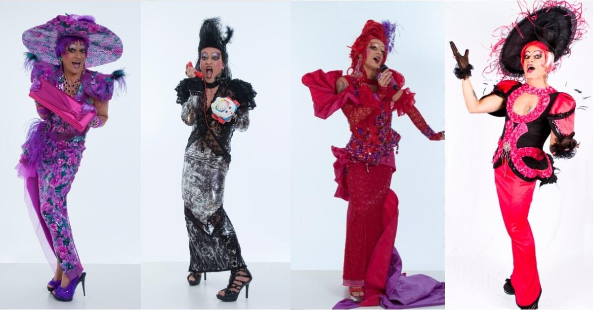 On comprend facilement pourquoi Mado Lamothe aime les costumes extravagants à l'opéra. (Photo: courtoisie de Mado Lamotte)