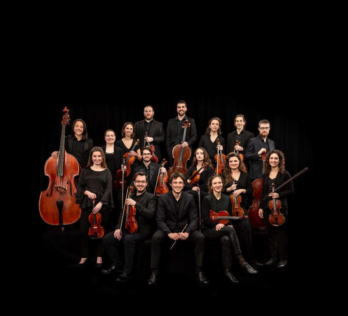 Orchestre de l'Agora. (Photo : Stéphane Bourgeois)