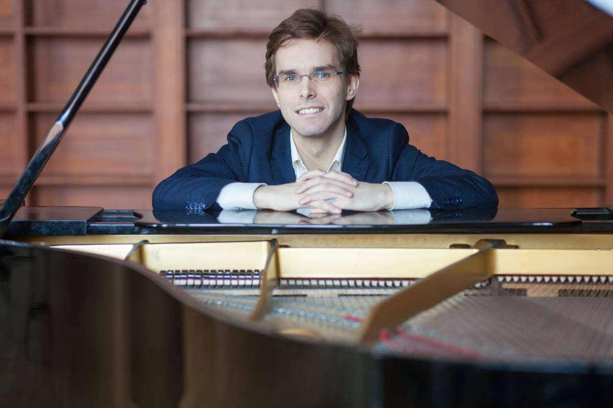 Philippe Prud'homme, pianiste. (Photo: Amélie Fortin)