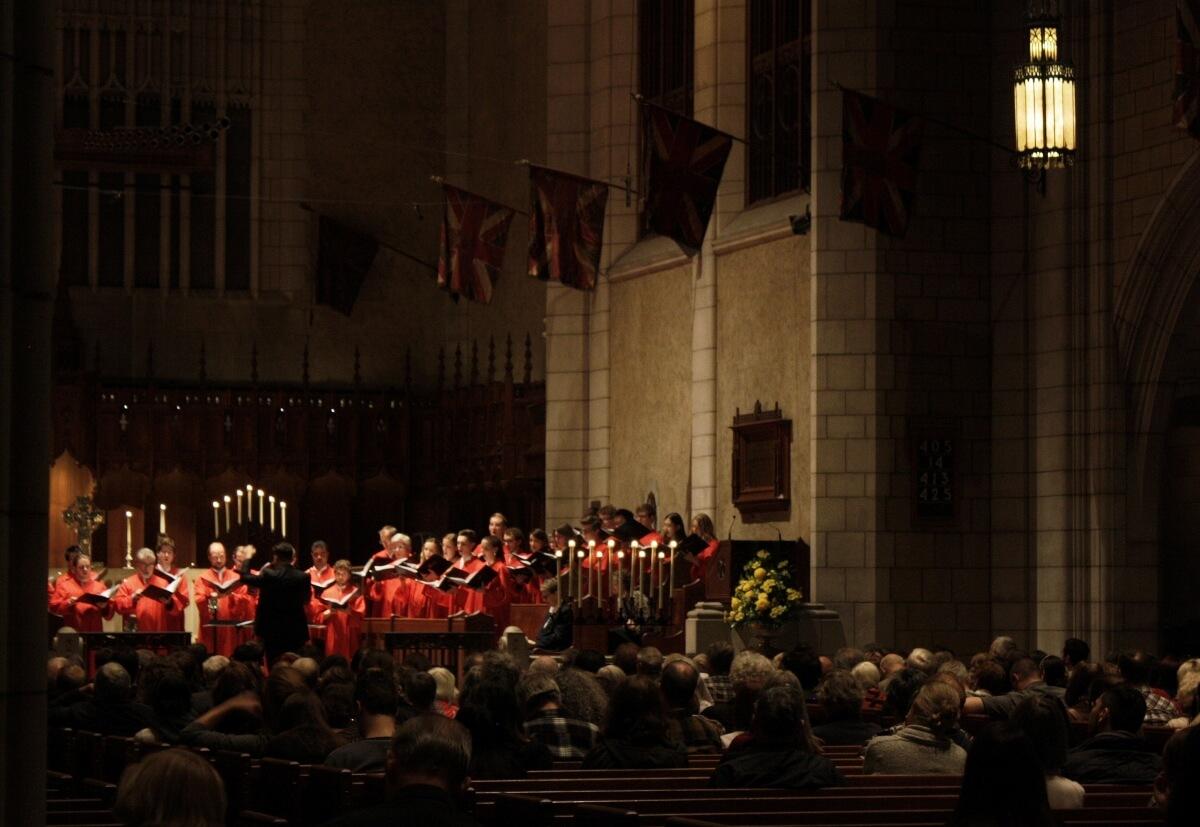 St. Andrew et St. Paul, Jean-Sébastien Vallée, concert à la lueur des chandelles