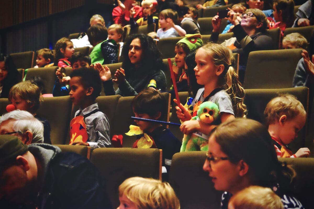 The Allegra Foundation provides concerts for audiences of all ages. (Photo: courtesy)