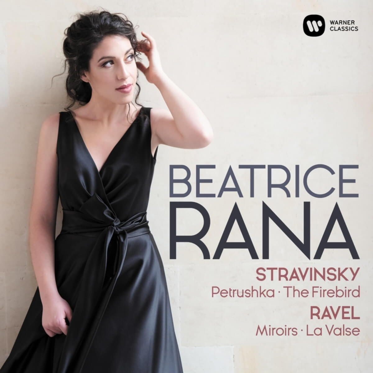 pochette de disque Beatrice Rana, pianiste, Stravinsky, Ravel