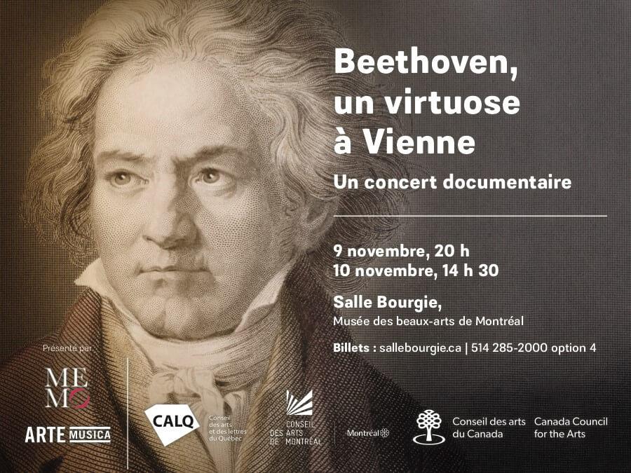 affiche Beethoven virtuose à Vienne