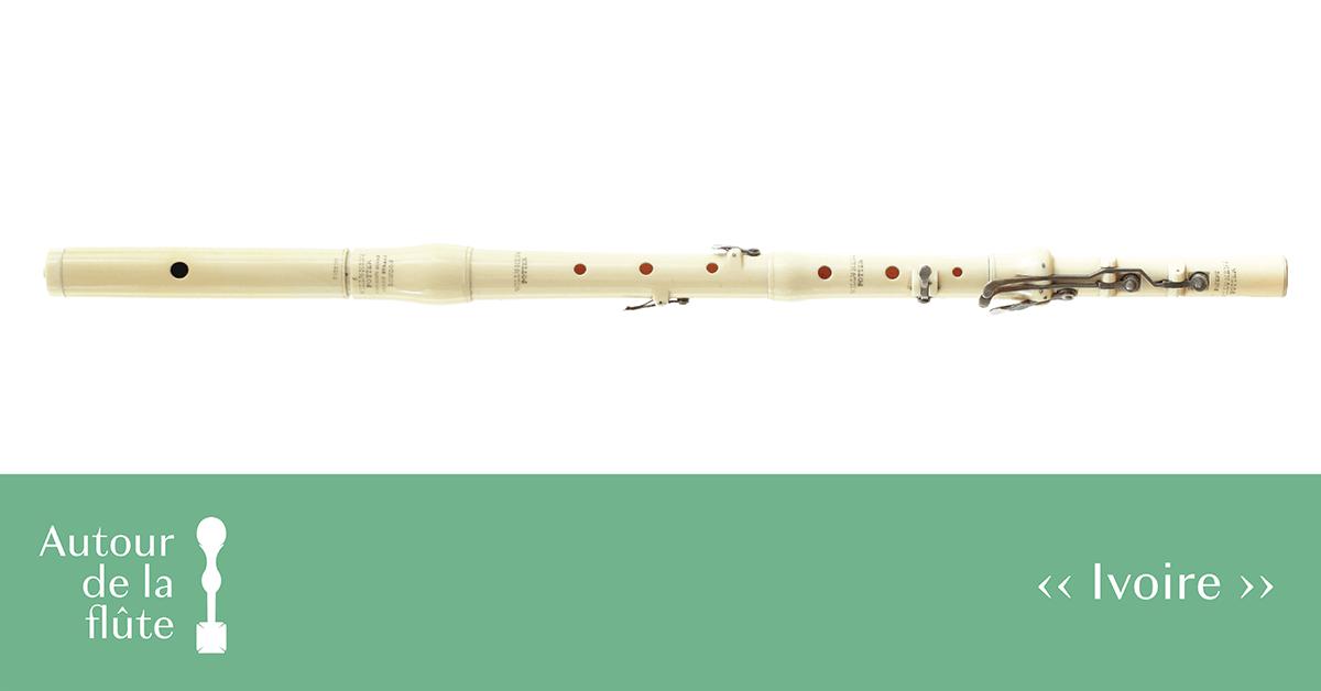 Autour de la flûte : Ivoire