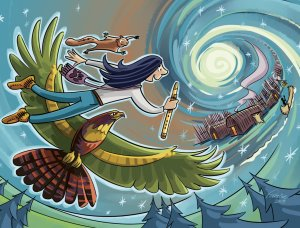 Ceux qui rêvent...(Illustration : Lorraine Beaudoin)