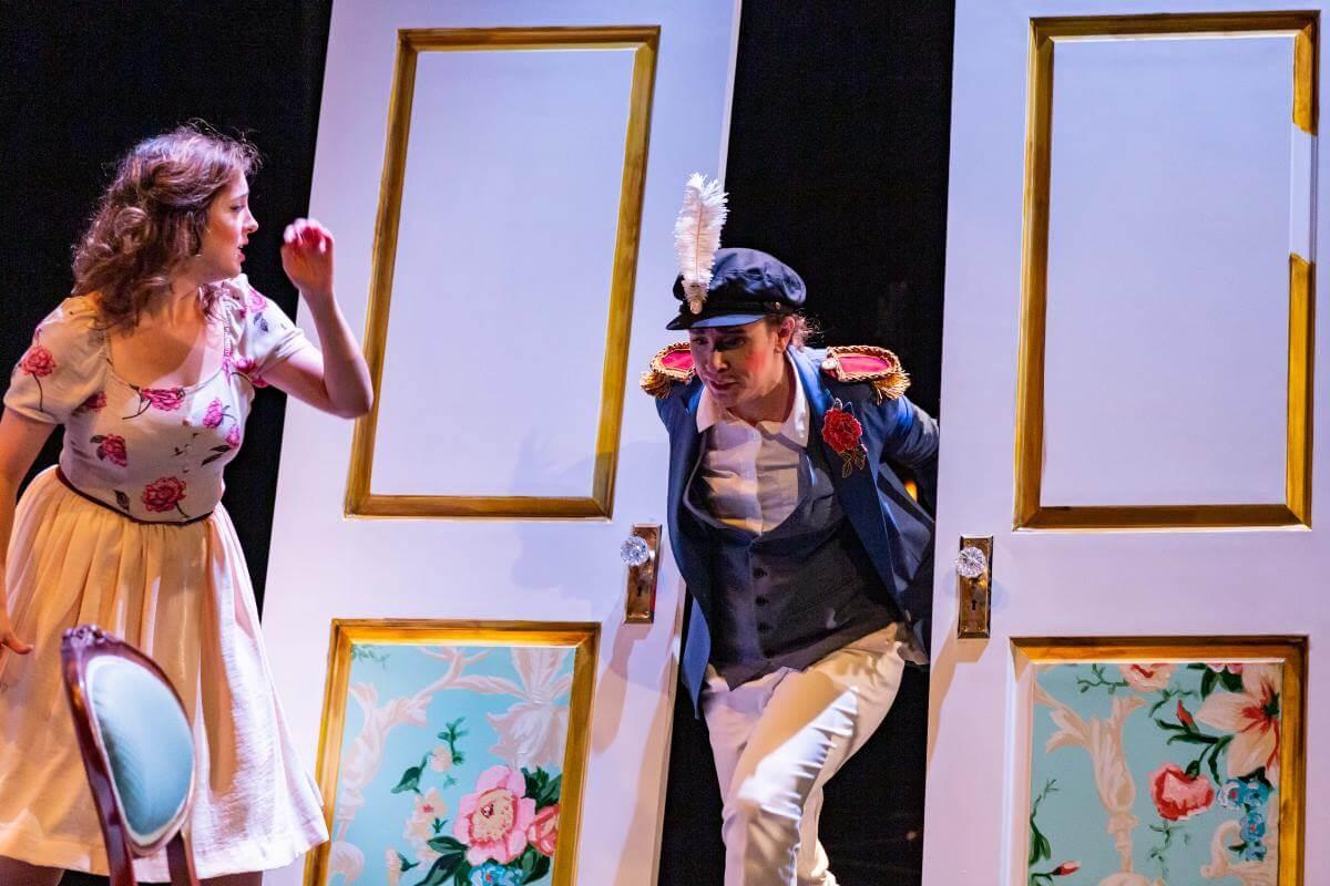 Les Noces de Figaro, production des JMC. (Photo: Antoine Saito)